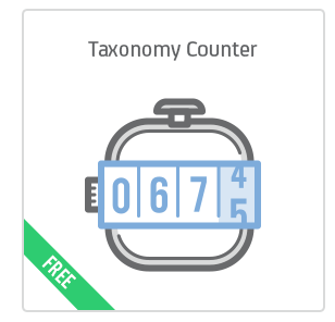 Taxonomy Counter add-on for Calendarize it!