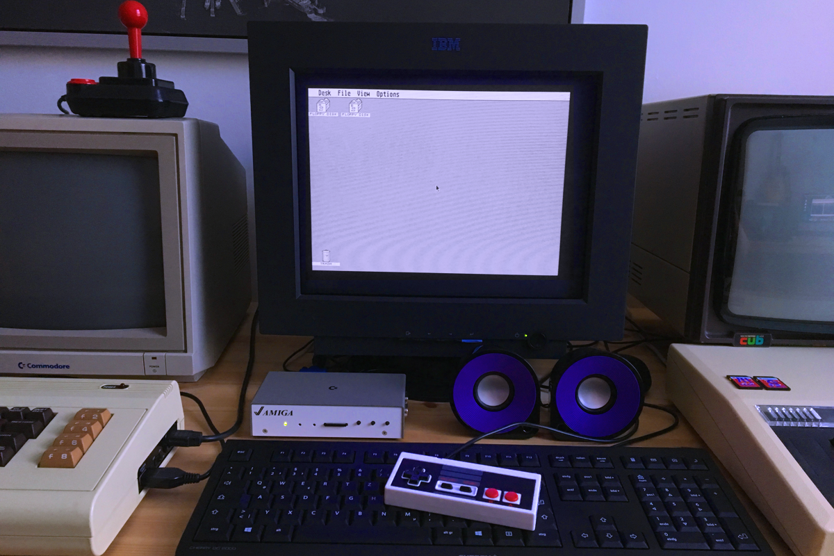 The Atari ST core is considered the most complete implementation.