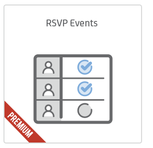 RSVP Events add-on for Calendarize it!