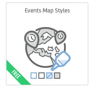 Event Map Syles add-on for Calendarize it!