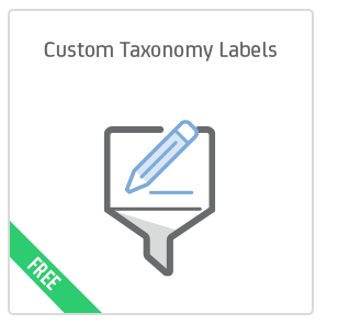 Custom Taxonomy Labels add-on for Calendarize it!
