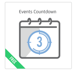 Events Countdown add-on for Calendarize it!