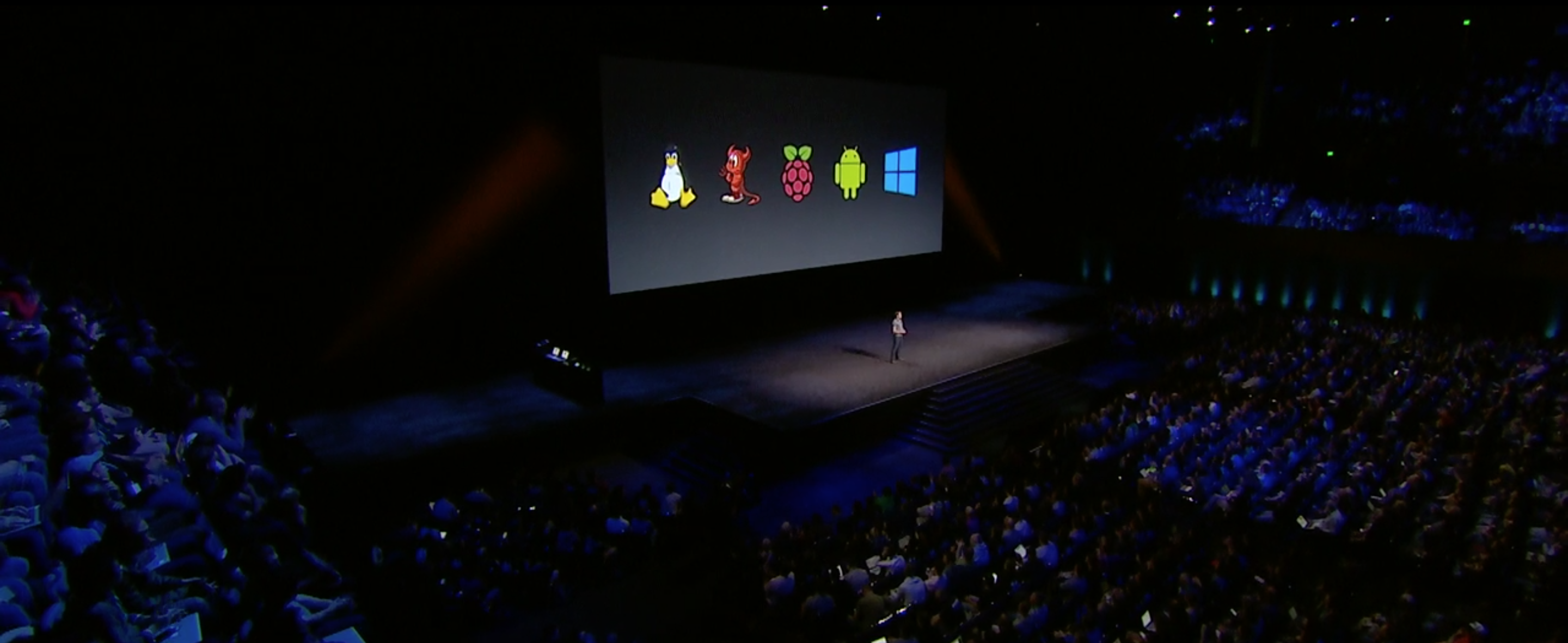 In June 2016 something I worked on was featured in Apple's WWDC State of the Union.