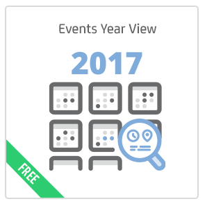 Events Year View add-on for Calendarize it!
