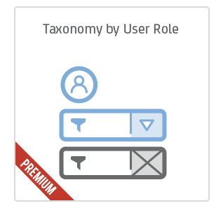Taxonomy by User Role add-on for Calendarize it!