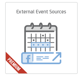 External Event Sources add-on for Calendarize it!
